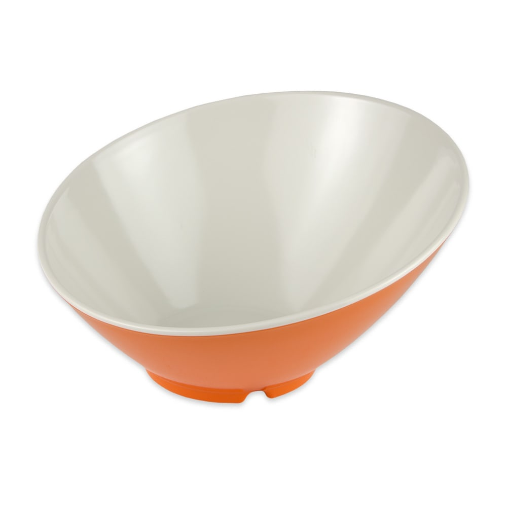 "GET B-792-ST 9.25"" Round Pasta Bowl w/ 24-oz Capacity, Melamine, Orange"