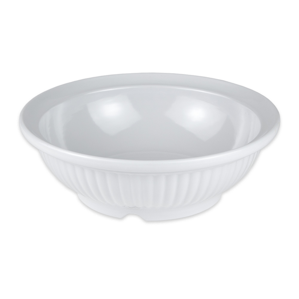 "GET B-795-W 12"" Round Serving Bowl w/ 3 qt Capacity, Melamine, White"