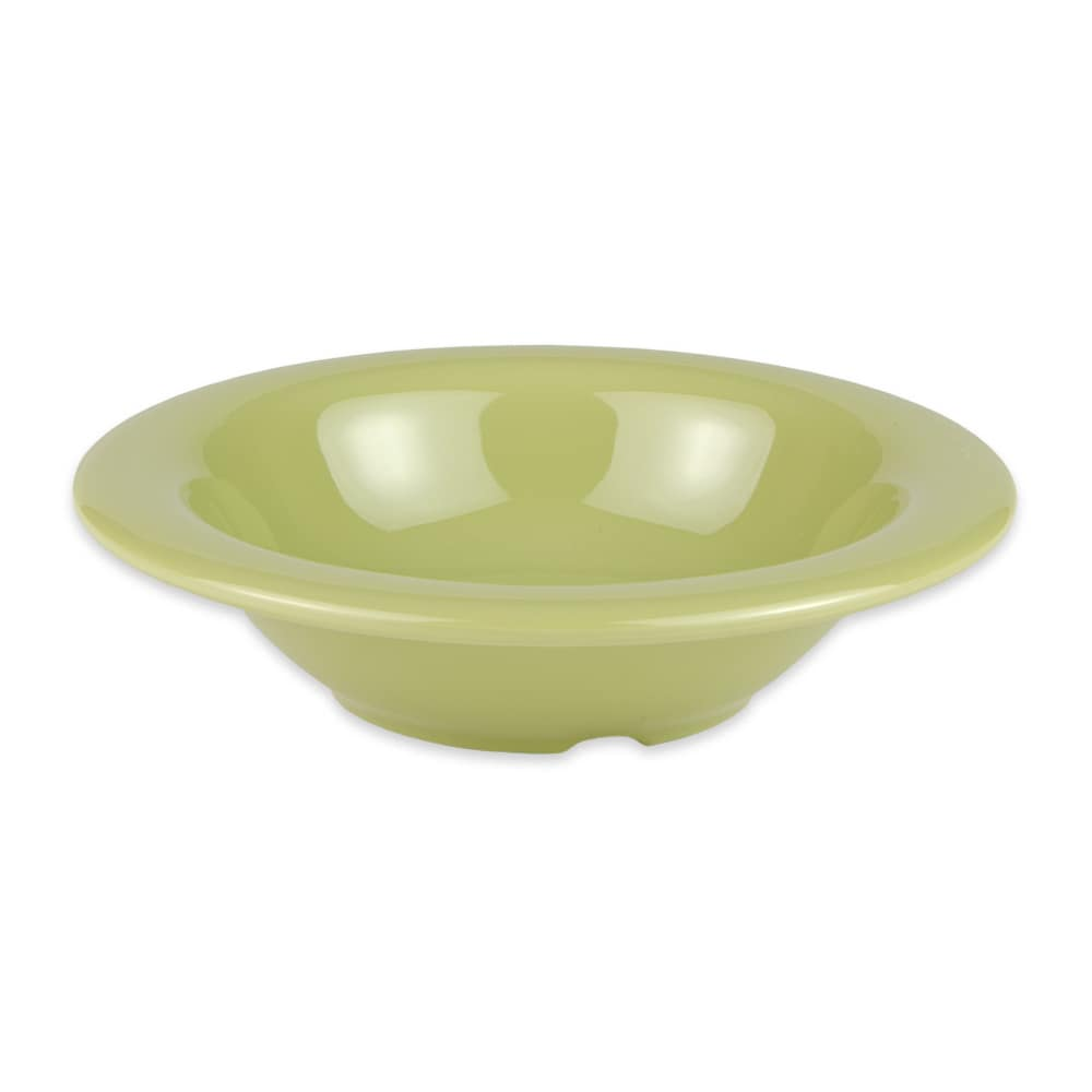 "GET B-86-AV 6"" Round Cereal Bowl w/ 8-oz Capcity, Melamine, Green"