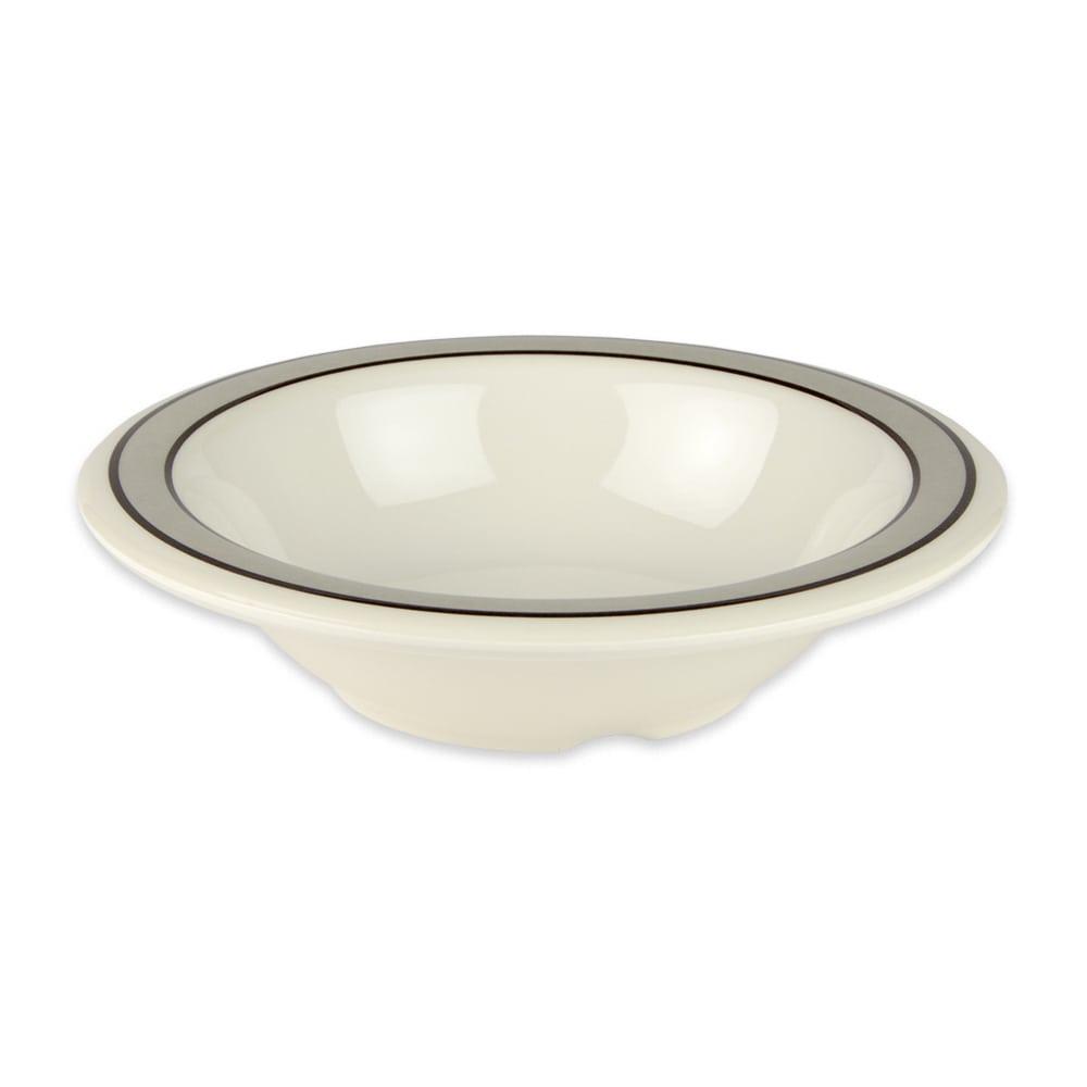 """GET B-86-CA 6"""" Round Cereal Bowl w/ 8-oz Capacity, Melamine, White"""