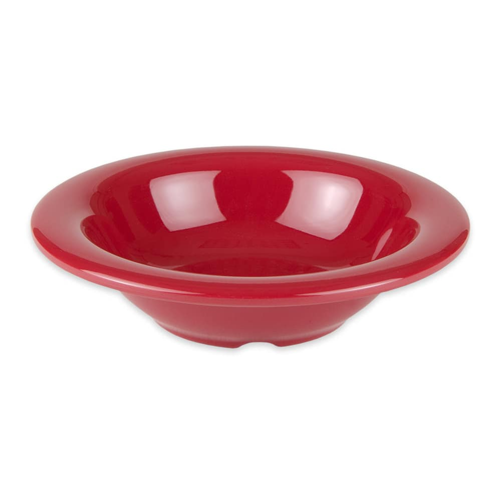 "GET B-86-CR 6"" Round Cereal Bowl w/ 8-oz Capacity, Melamine, Red"