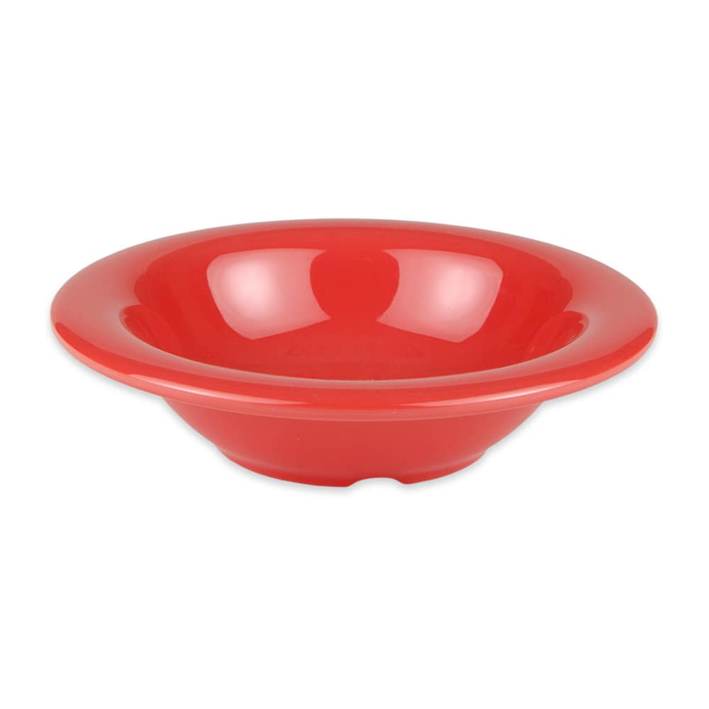 "GET B-86-RO 6"" Round Cereal Bowl w/ 8-oz Capacity, Melamine, Orange"