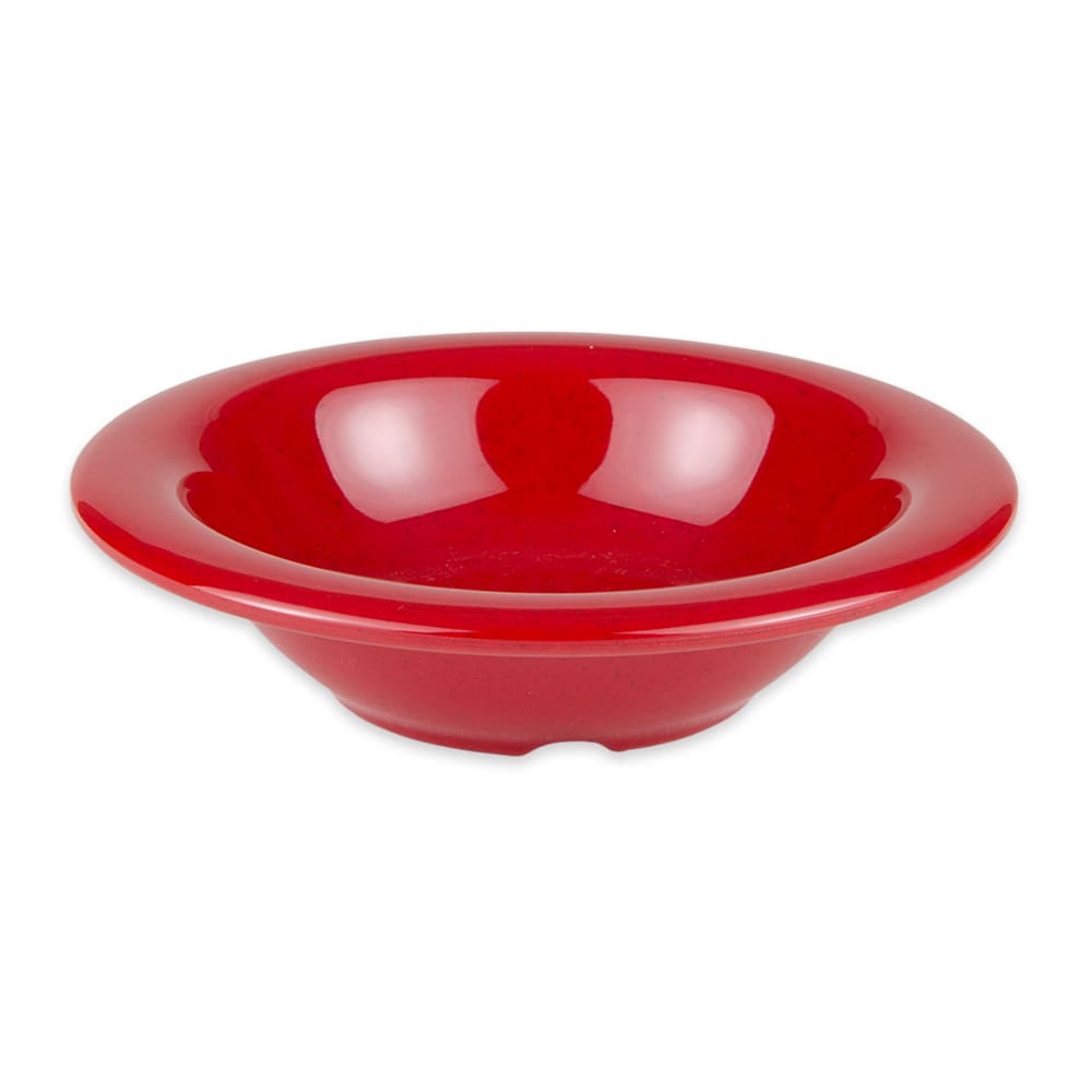 "GET B-86-RSP 6"" Round Cereal Bowl w/ 8-oz Capacity, Melamine, Red"