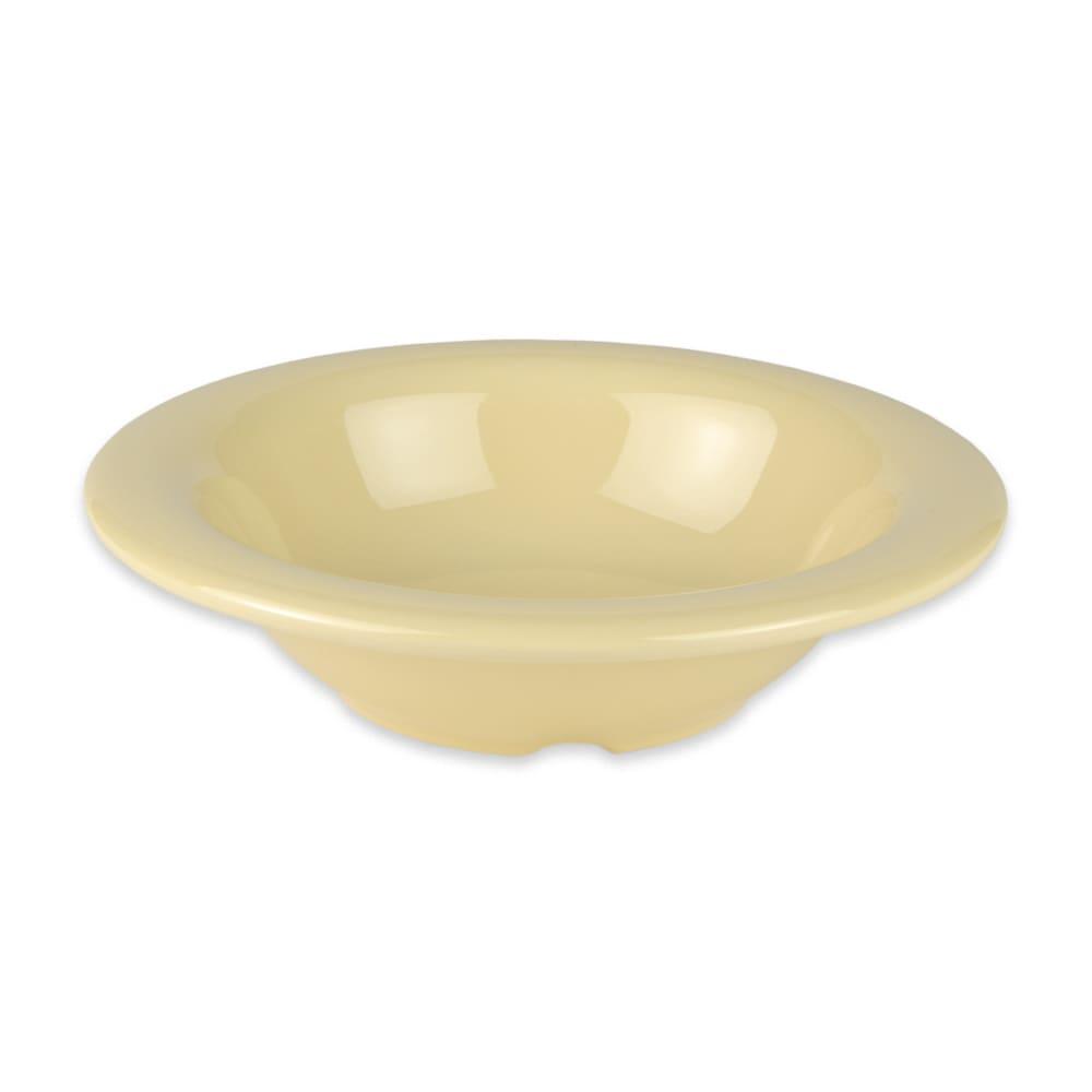 "GET B-86-SQ 6"" Round Cereal Bowl w/ 8-oz Capacity, Melamine, Yellow"