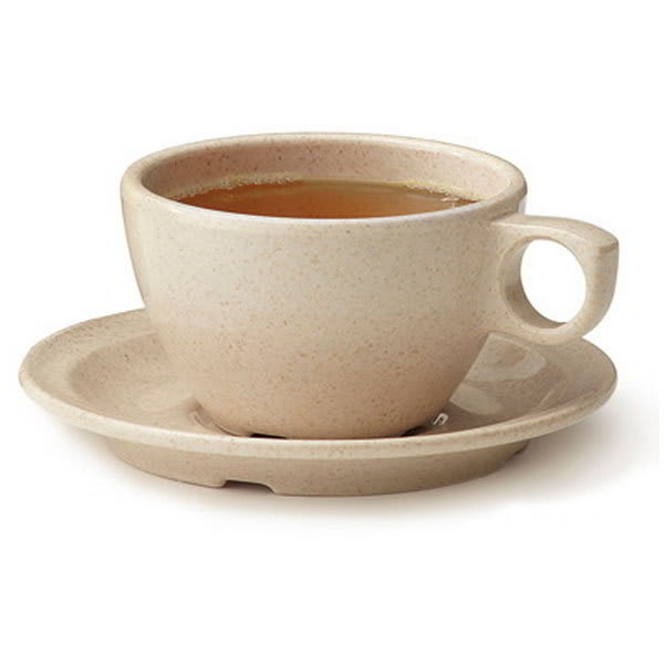 """GET BAM-1002 5.75"""" BambooMel Saucer For BAM-1001 Coffee Cup"""