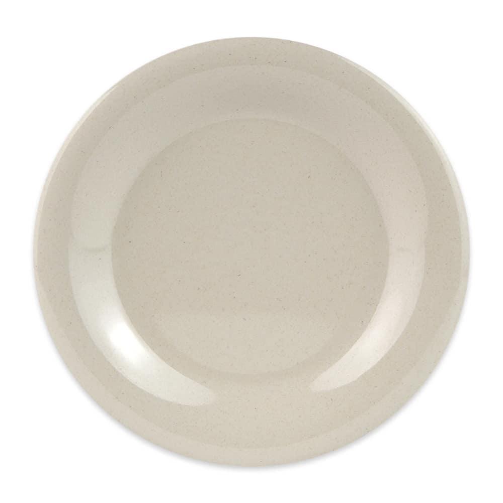 """GET BAM-1006 6.5"""" Round Salad Plate, Melamine, Beige"""