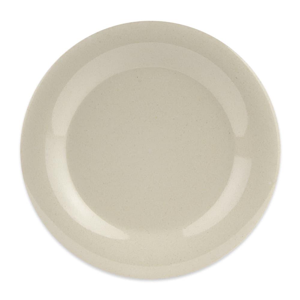 """GET BAM-1009 9"""" Round Dinner Plate, Melamine, Beige"""
