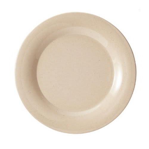 """GET BAM-1010 10.5"""" Round Dinner Plate, Melamine, Beige"""