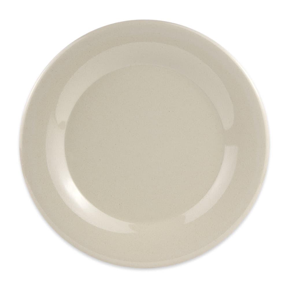 """GET BAM-1012 12"""" Round Dinner Plate, Melamine, Beige"""