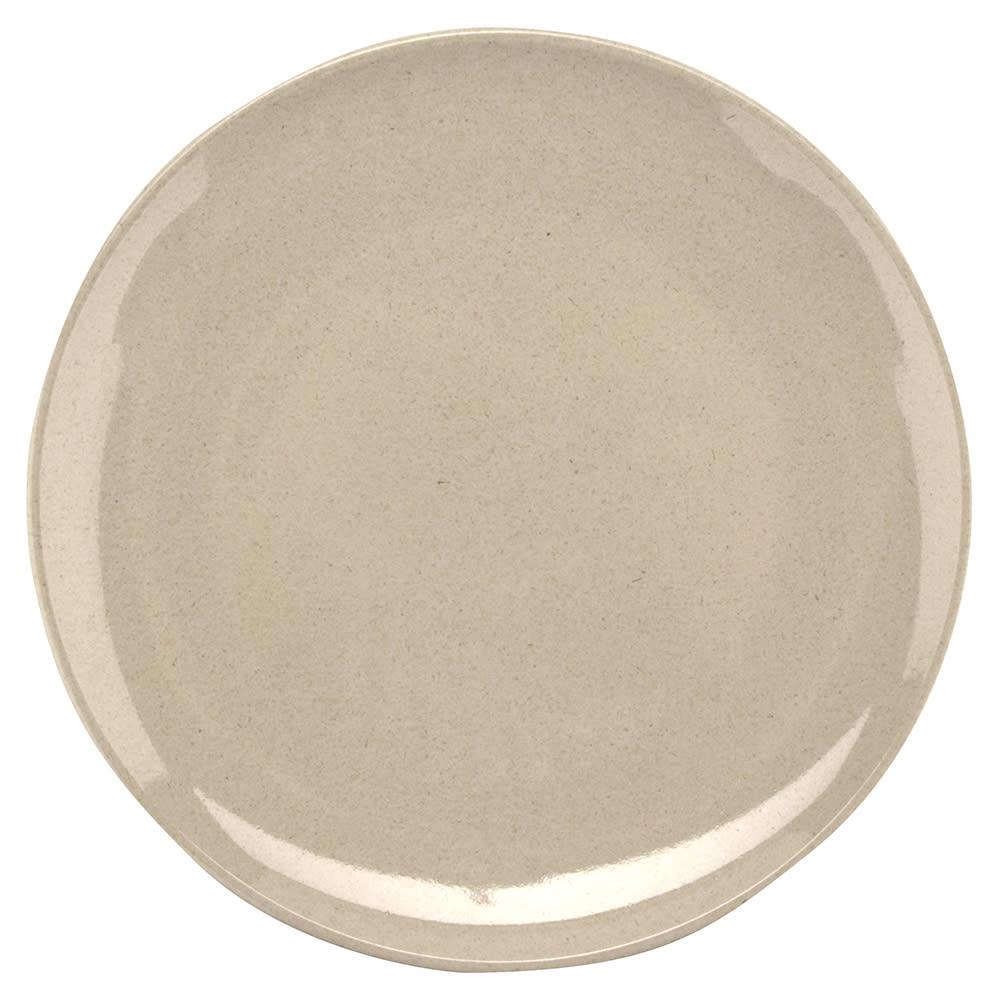 """GET BAM-16100 7.75"""" Round Salad Plate, Melamine, Beige"""