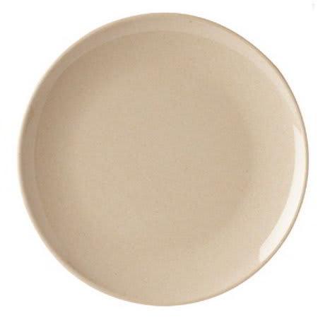 """GET BAM-16102 12"""" Round Dinner Plate, Melamine, Beige"""
