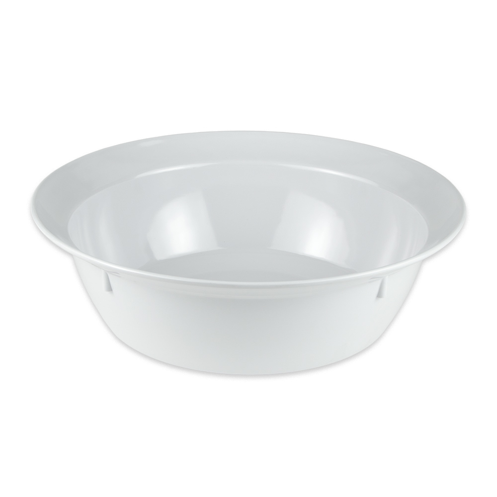 "GET BB-155-6-W 15"" Round Serving Bowl w/ 6-qt Capacity, Melamine, White"