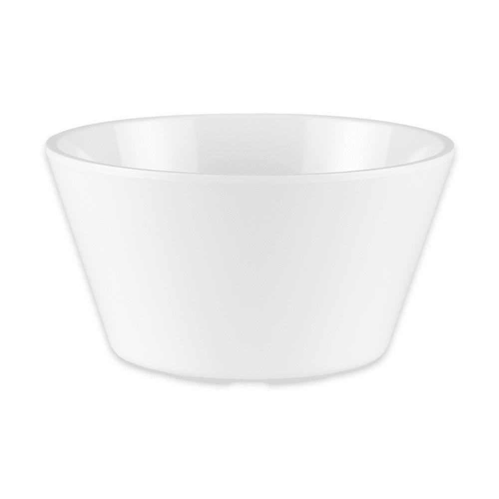 "GET BC-007-W 4"" Round Bouillon Cup w/ 8-oz Capacity, Melamine, White"