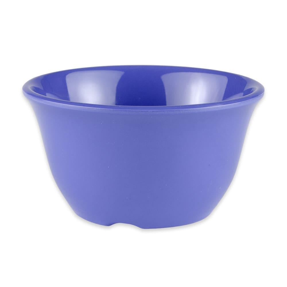 "GET BC-70-PB 4"" Round Bouillon Cup w/ 7 oz Capacity, Melamine, Blue"