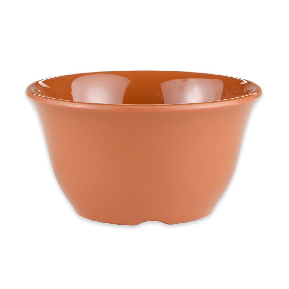 "GET BC-70-PK 4"" Round Bouillon Cup w/ 7-oz Capacity, Melamine, Orange"