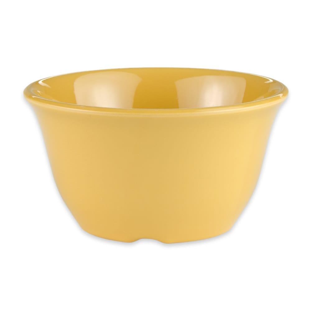 "GET BC-70-TY 4"" Round Bouillon Cup w/ 7-oz Capacity, Melamine, Yellow"