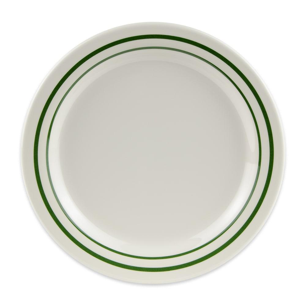 """GET BF-010-EM 10"""" Round Dinner Plate, Melamine, White"""
