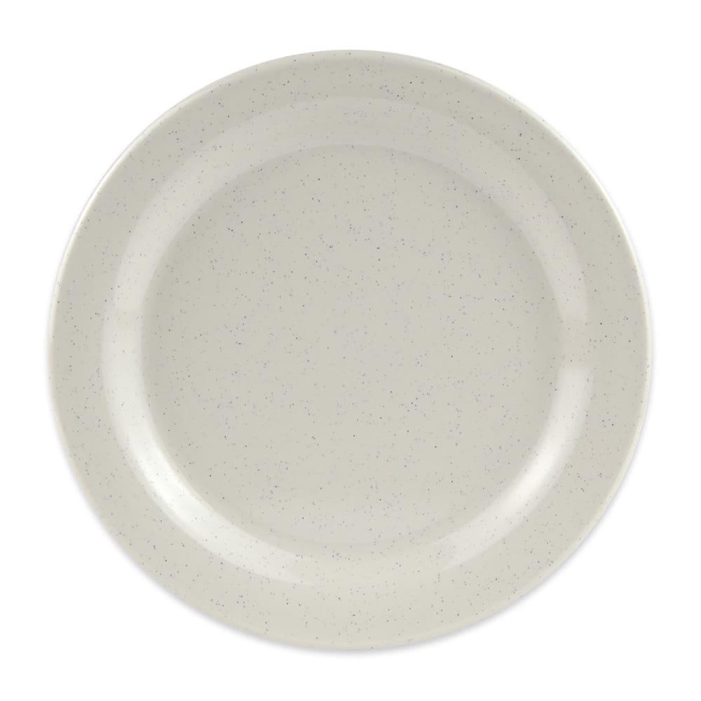"GET BF-010-IR 10"" Round Dinner Plate, Melamine, White"