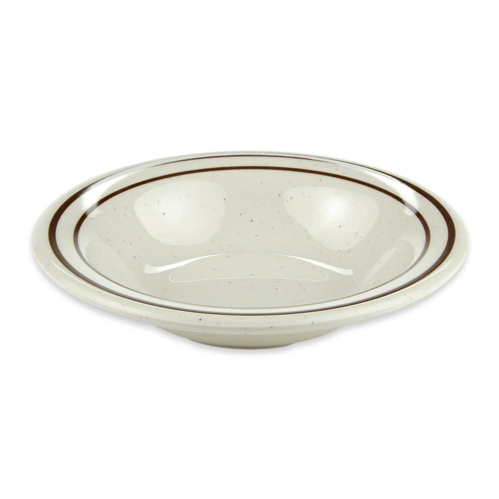 "GET BF-050-U 5.25"" Round Fruit Bowl w/ 3.5-oz Capacity, Melamine, White"