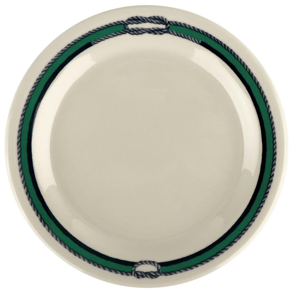 """GET BF-060-FP 6.25"""" Dessert Plate, Melamine, White"""