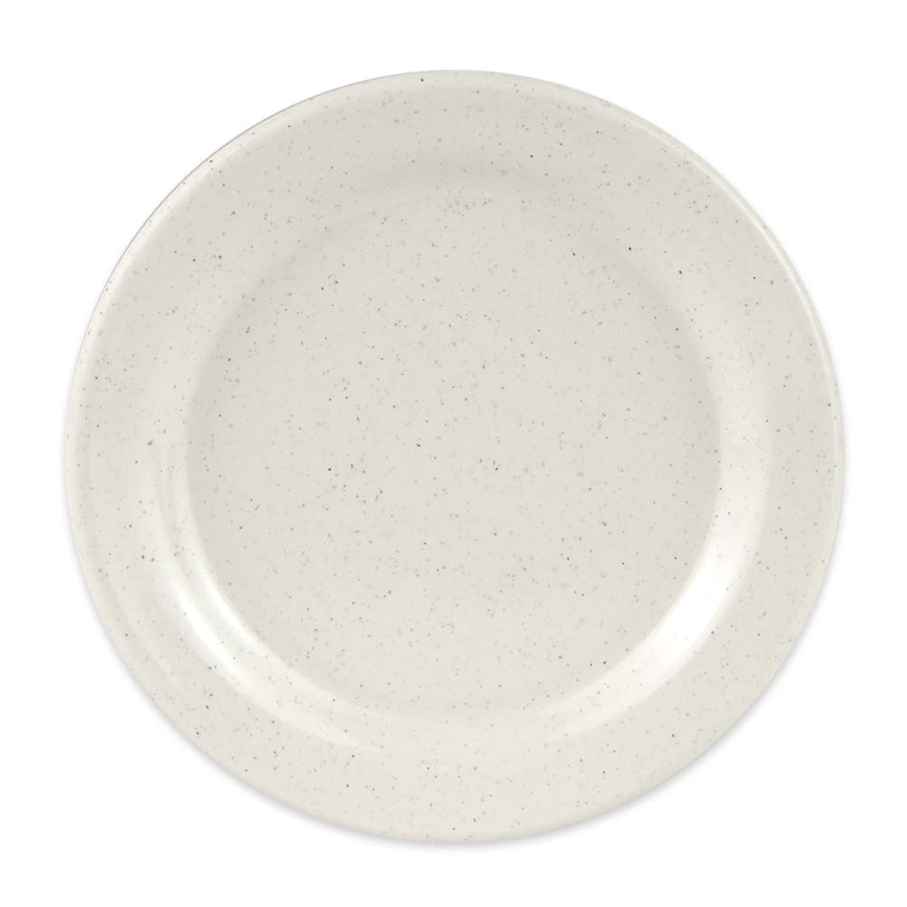 """GET BF-060-IR 6.25"""" Round Dessert Plate, Melamine, White"""