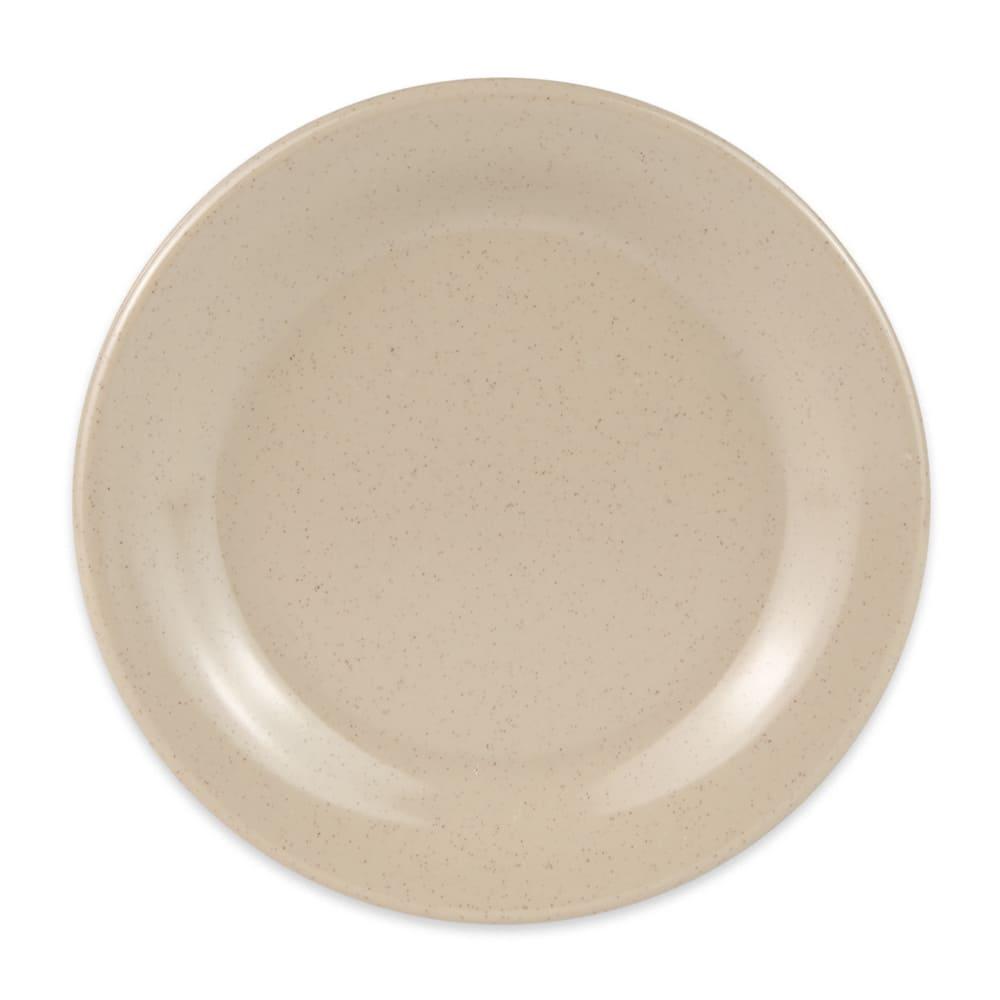"""GET BF-060-S 6.25"""" Round Dessert Plate, Melamine, Sandstone"""