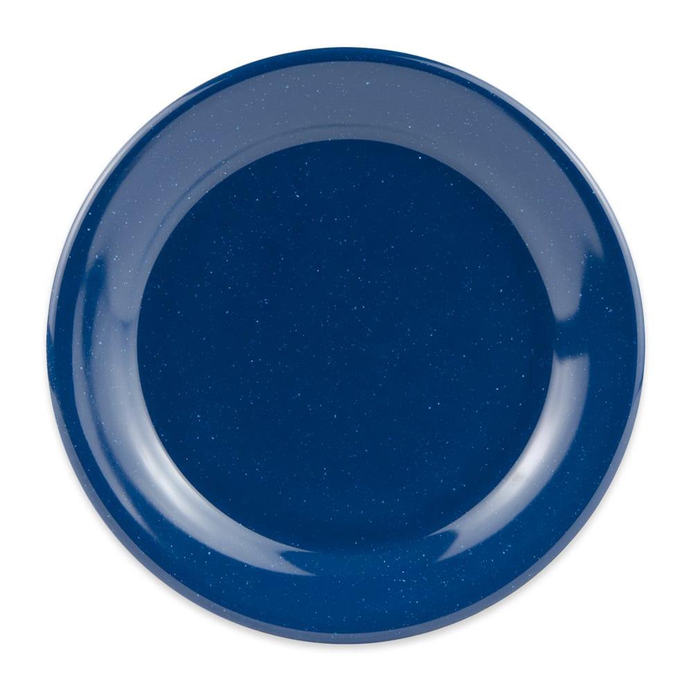 """GET BF-060-TB 6.25"""" Round Dessert Plate, Melamine, Blue"""