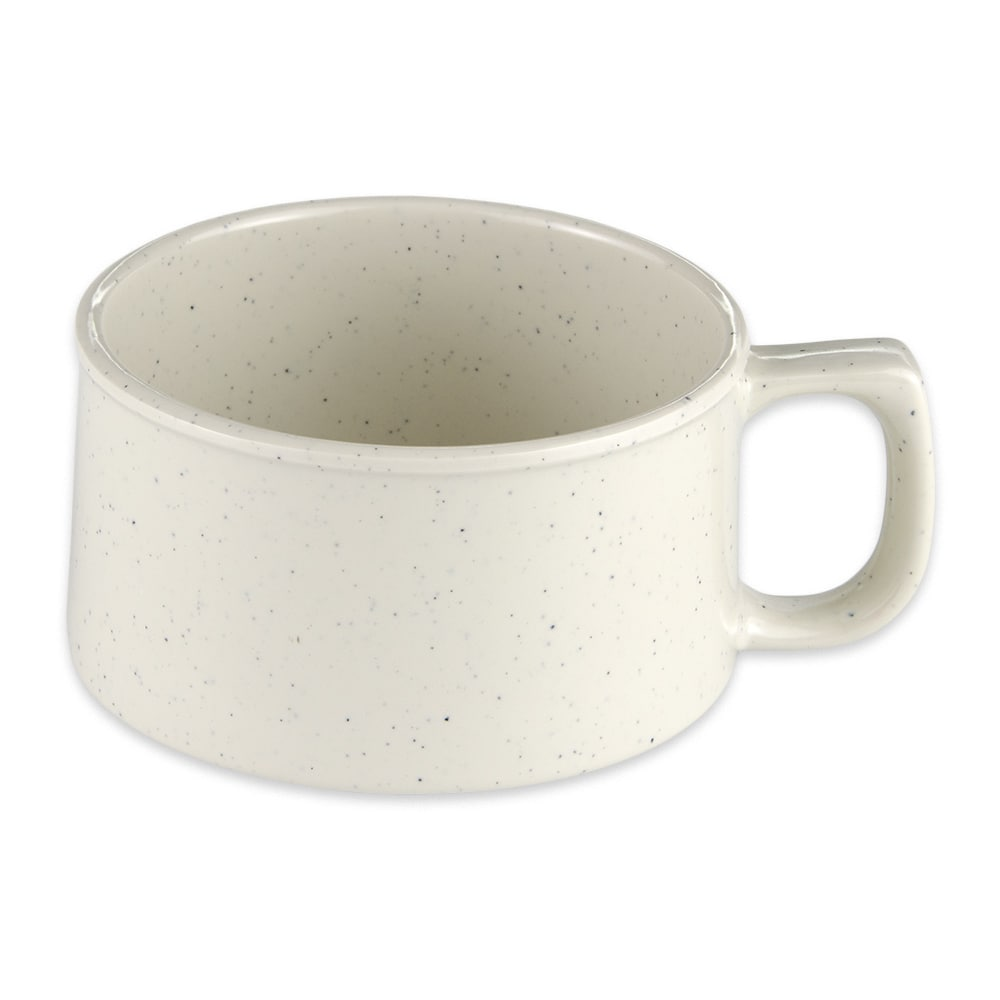 """GET BF-080-IR 4"""" Round Soup Mug w/ 11-oz Capacity, Melamine, White"""