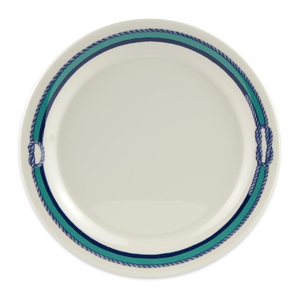 """GET BF-090-FP 9"""" Round Dinner Plate, Melamine, White"""