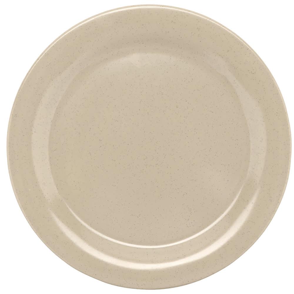 "GET BF-090-S 9""Dinner Plate, Melamine, Sandstone"