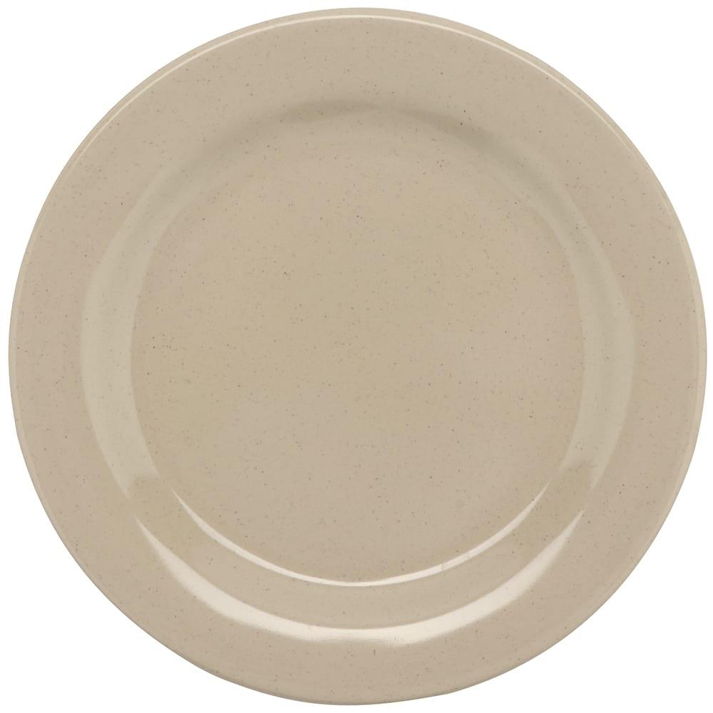 "GET BF-700-S 7 1/4""Dessert Plastic Plate, Sandstone"