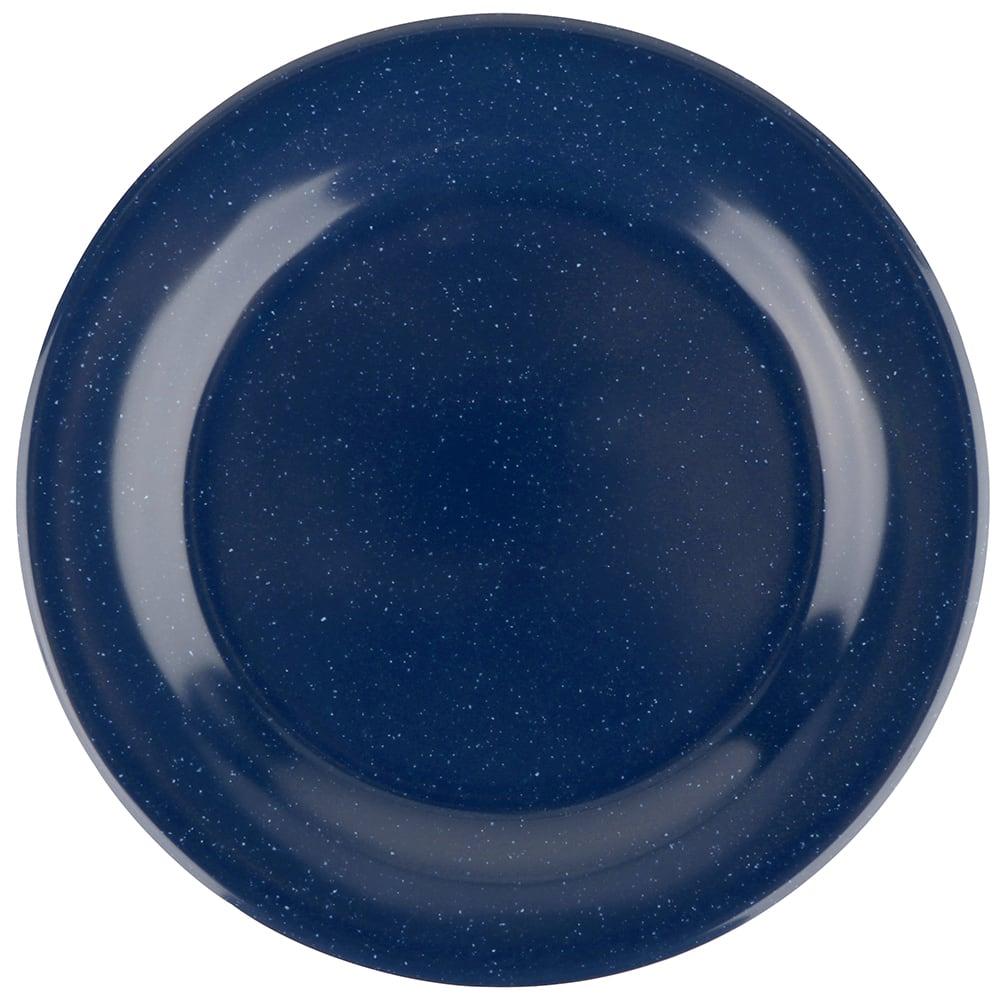 "GET BF-700-TB 7 1/4""Dessert Plastic Plate, Texas Blue"