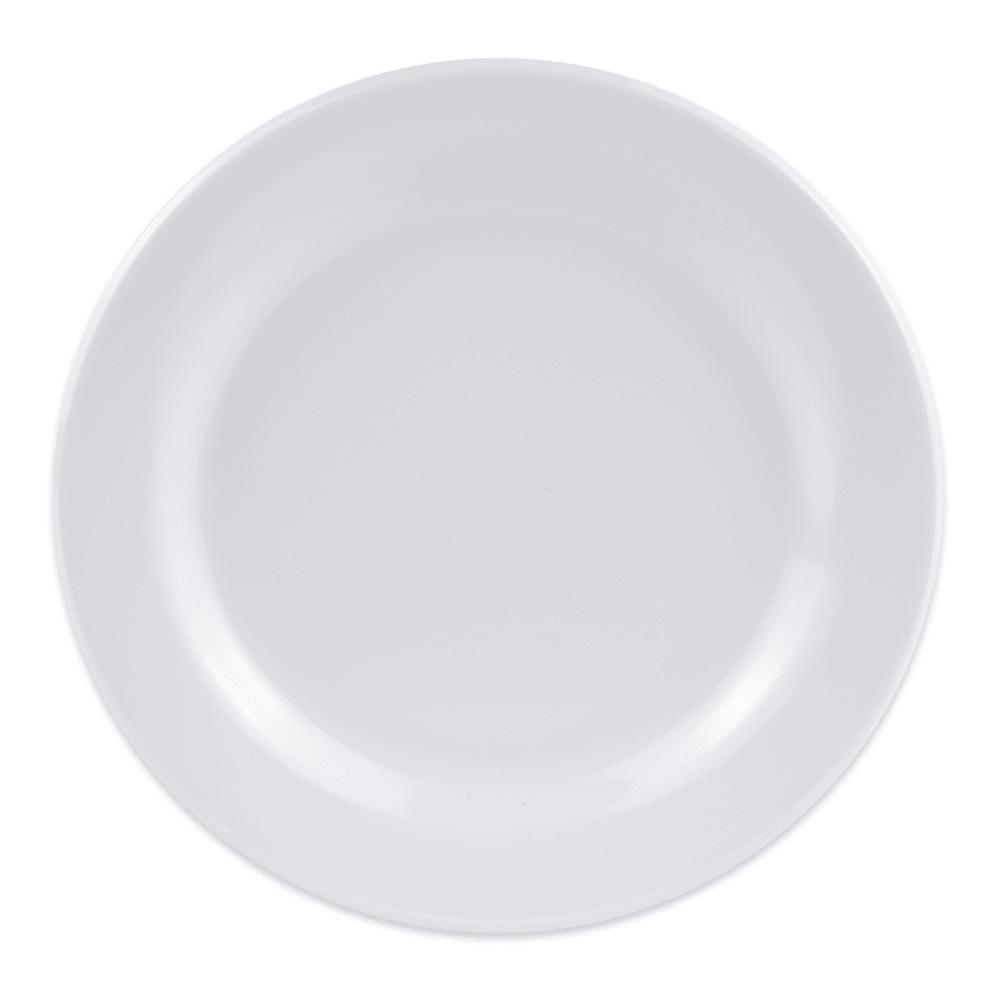 """GET BF-700-W 7.5"""" Round Dessert Plate, Melamine, White"""
