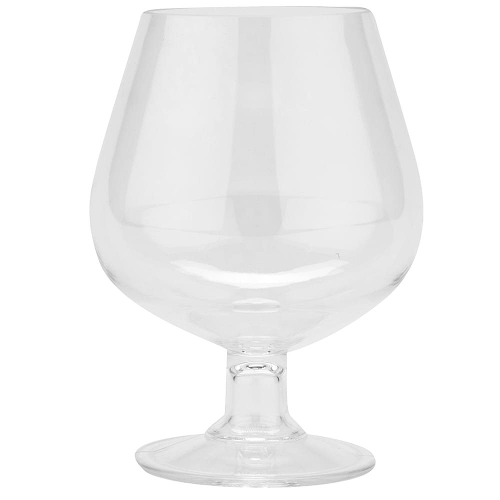 GET BRA-2-PC-CL 16-oz Brandy Glass, Polycarbonate, Clear