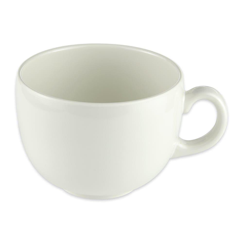GET C-1001-IV 18-oz Coffee Mug, Melamine, Ivory