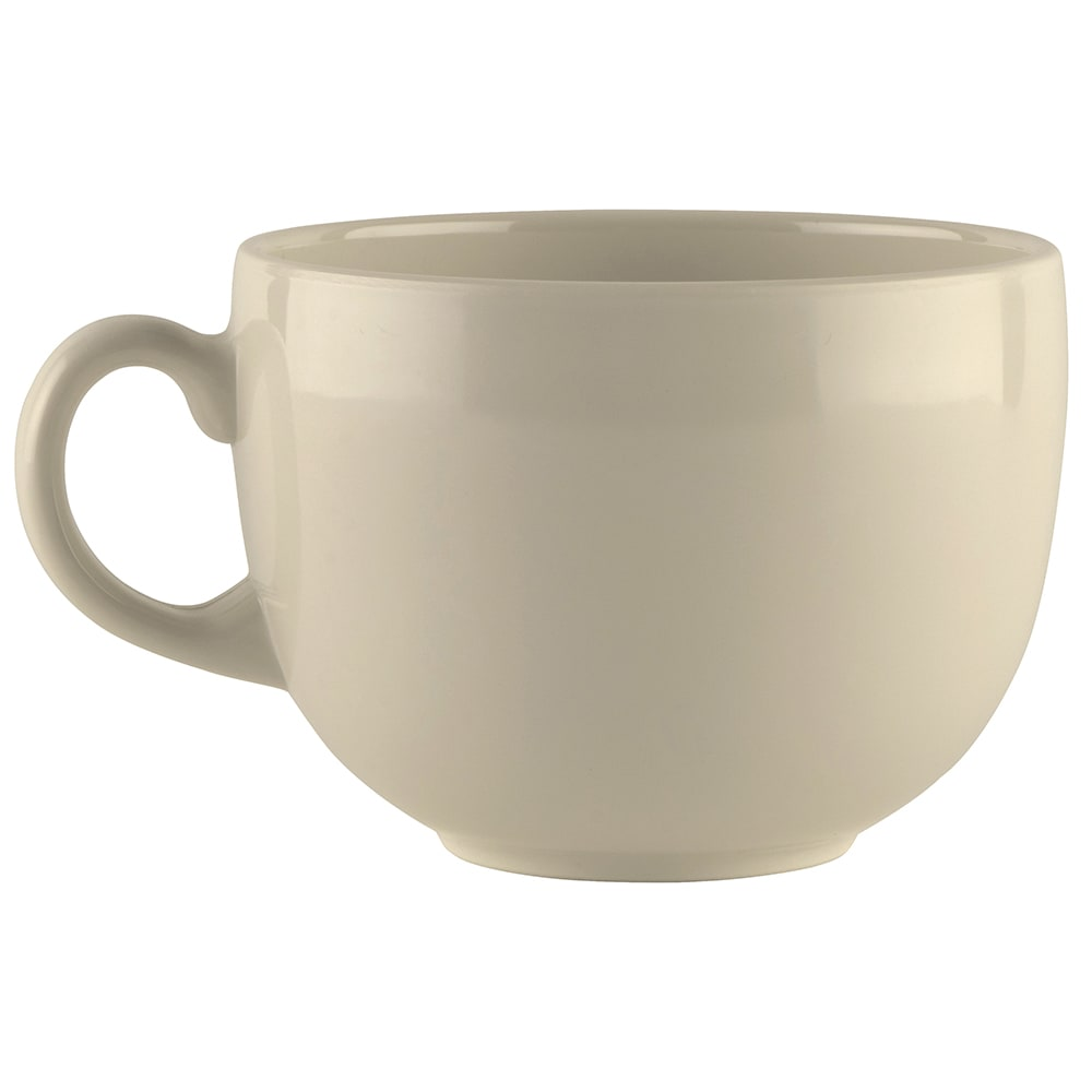 GET C-1002-IV 24-oz Coffee Mug, Melamine, Ivory