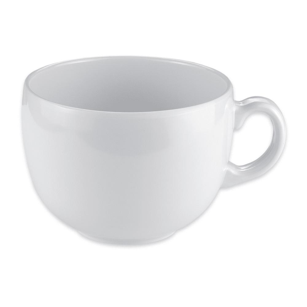 GET C-1002-W 24-oz Coffee Mug, Melamine, White
