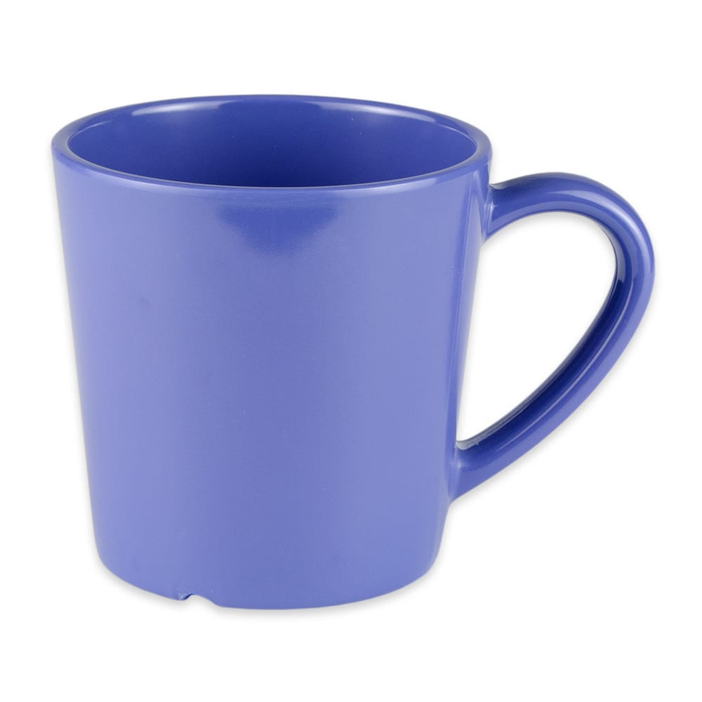 GET C-107-PB 8-oz Coffee Cup, Melamine, Blue