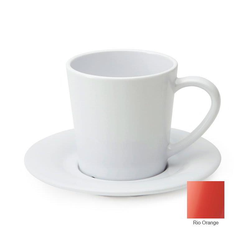 GET C-107-RO 8-oz Coffee Cup, Melamine, Orange