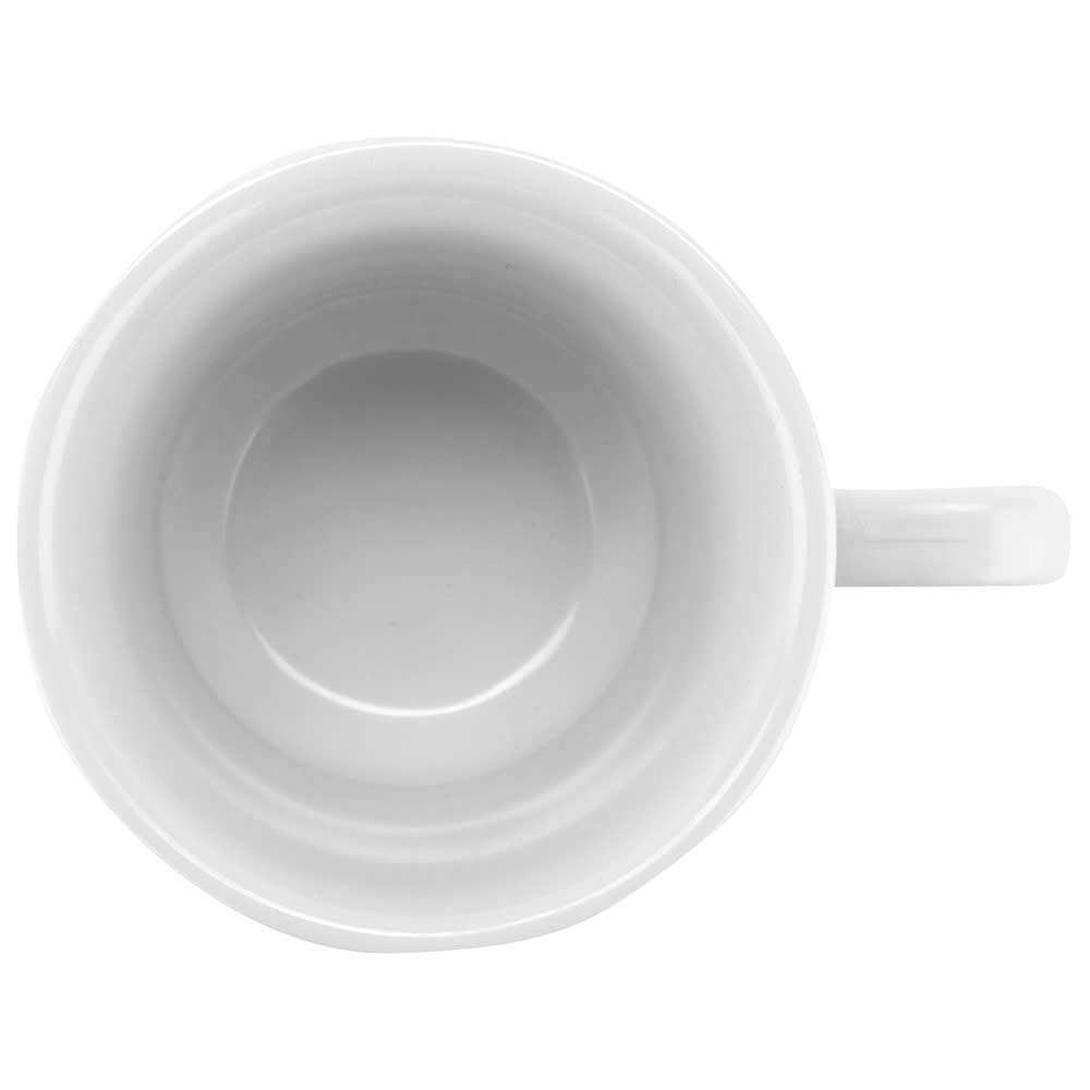 GET C-108-W 7-oz Coffee Cup, Melamine, White
