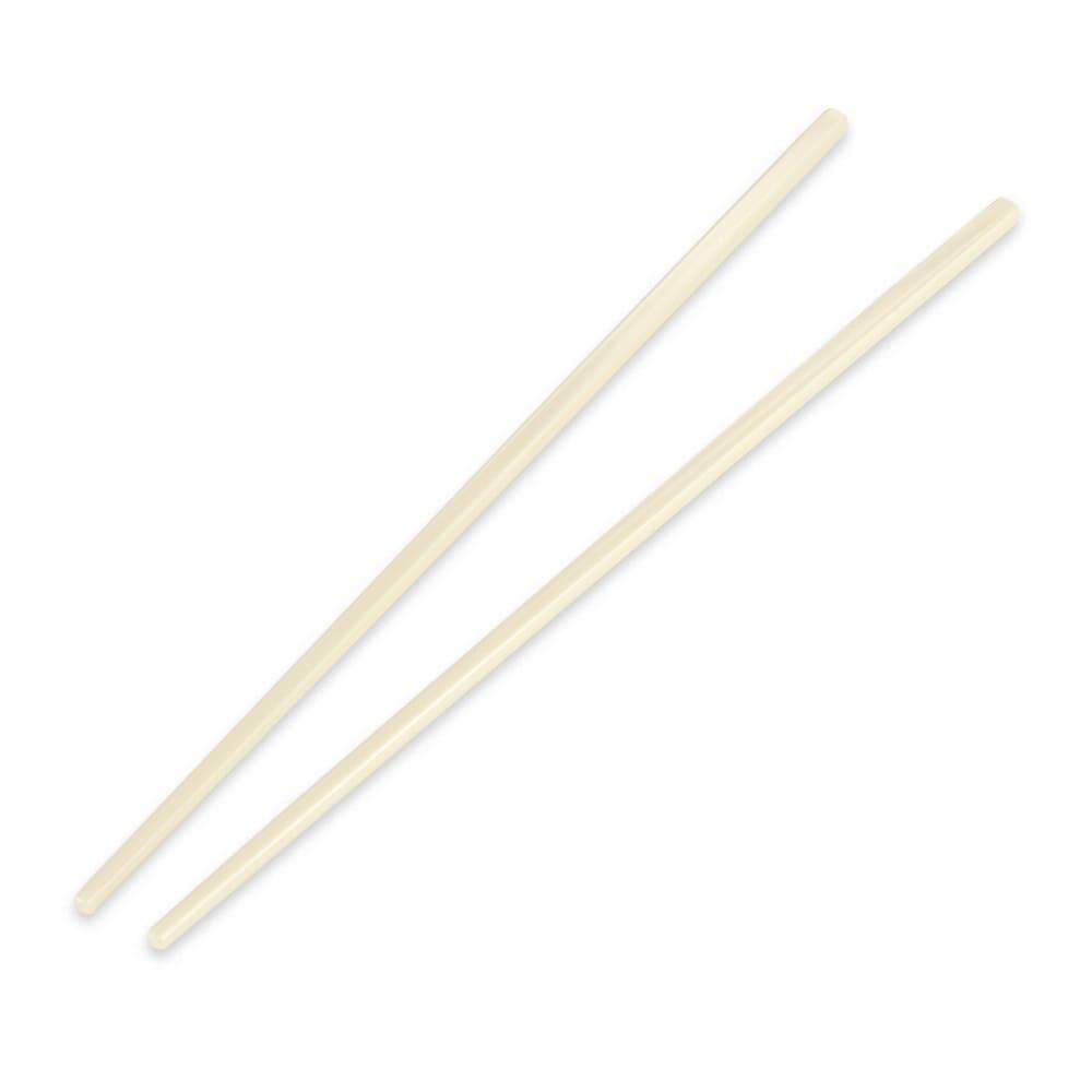 "GET CHOPSTICKS-IV 10.75"" Chopsticks, Plastic, Ivory"