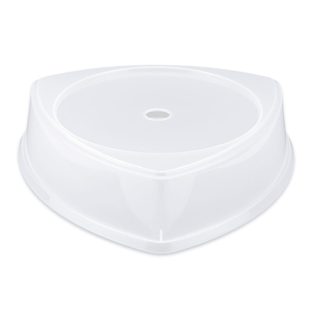 """GET CO-104-CL Plate Cover, Fits TP-12 or 12""""Triangle Plates, Polypropylene, Clear Plastic"""