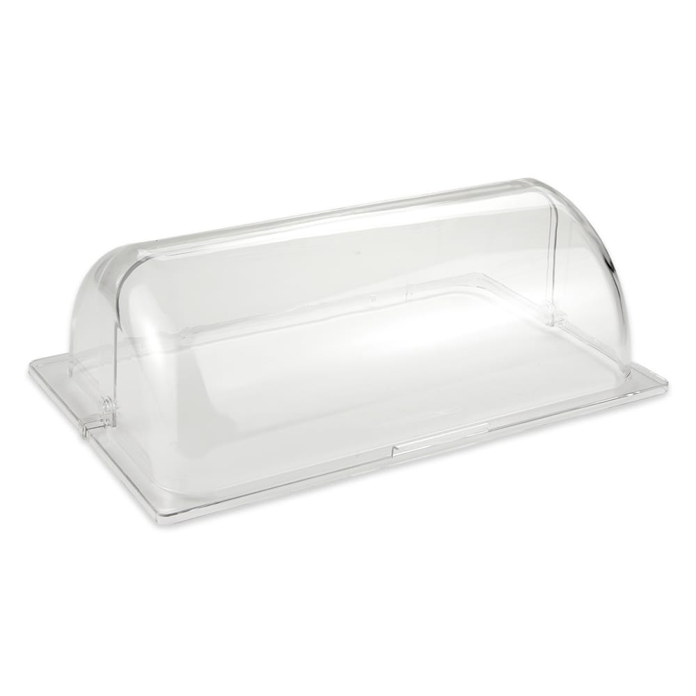 "GET CO-3065-CL Rectangular Basket Cover Only for WB-1552, 21.25"" x 13"" x 7"", Polycarbonate, Clear"