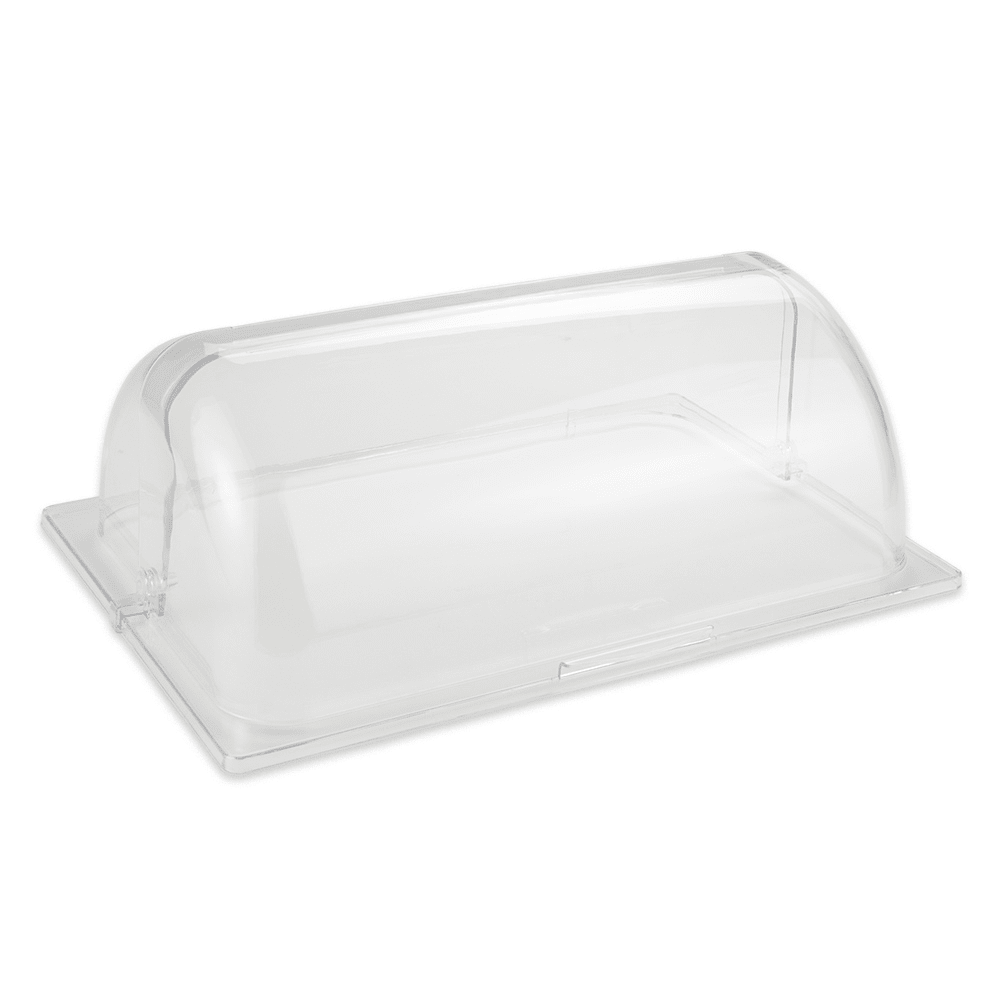 "GET CO-3426-CL Rectangular Basket Cover Only for WB-1553, 16.75"" x 11.5"" x 6"", Polycarbonate, Clear"