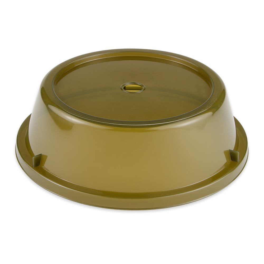 "GET CO-93-A Cover For 9.7"" To 10.4"" Round Plates, Amber Polypropylene"