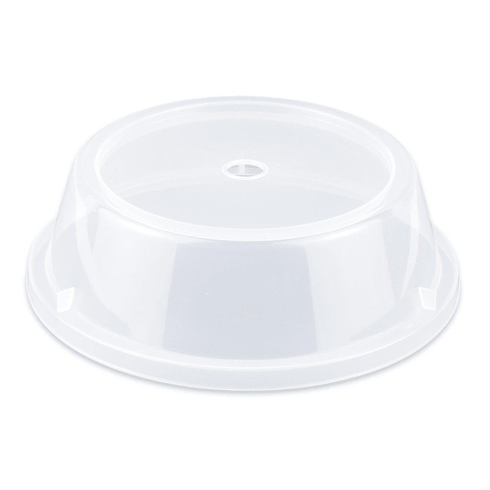"GET CO-93-CL Cover For 9.7"" To 10.4"" Round Plates, Clear Polypropylene"