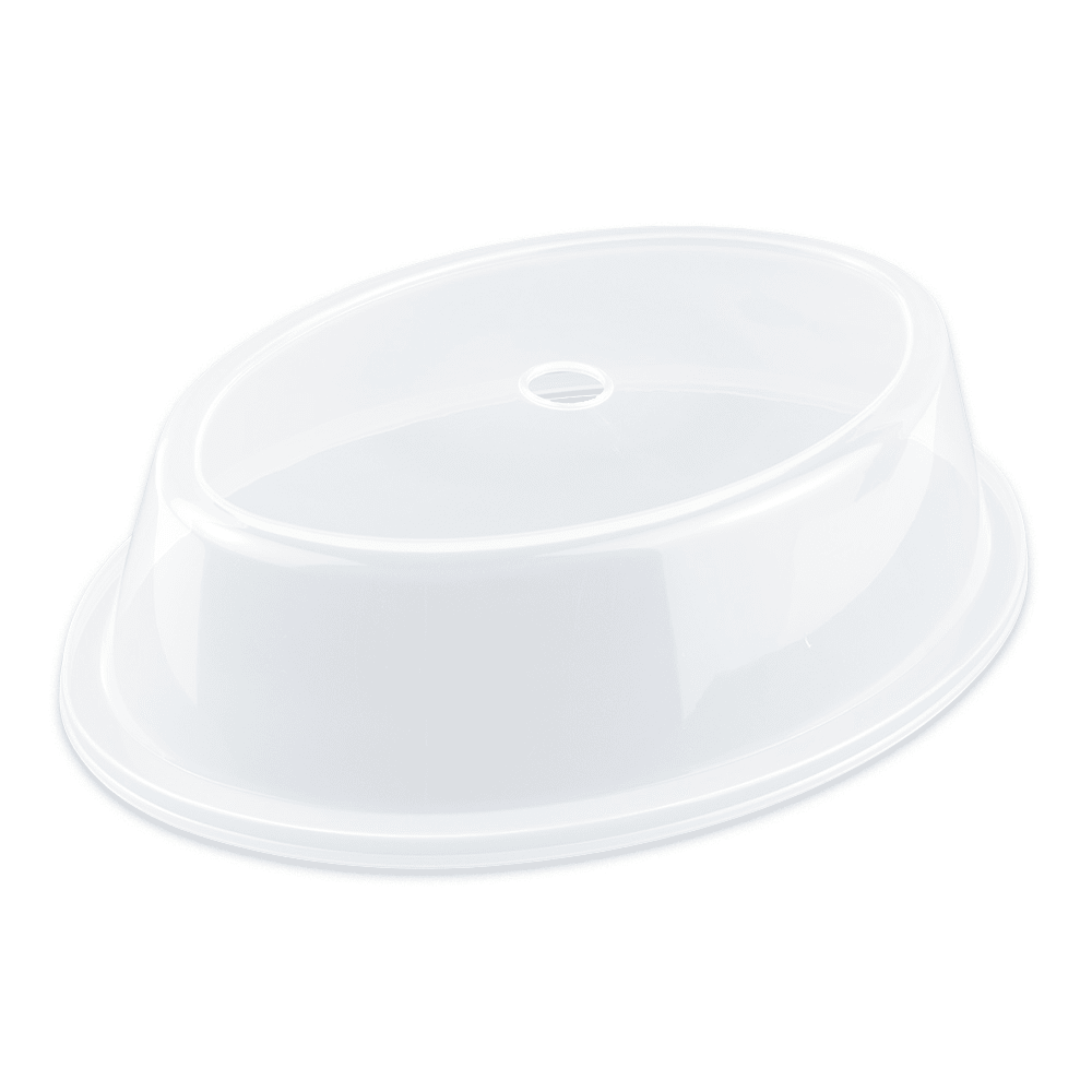 "GET CO-96-CL Cover for 8 x 11.25"" To 8.68 x 11.95"" Oval Plates, Clear Plastic"