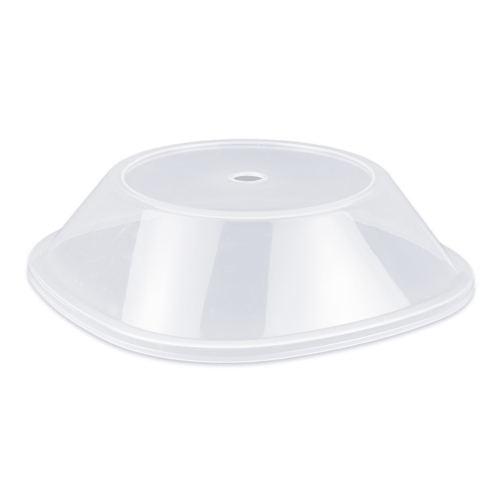 "GET CO-99-CL Cover For 11"" To 11.8"" Square Plates, Clear Polypropylene"
