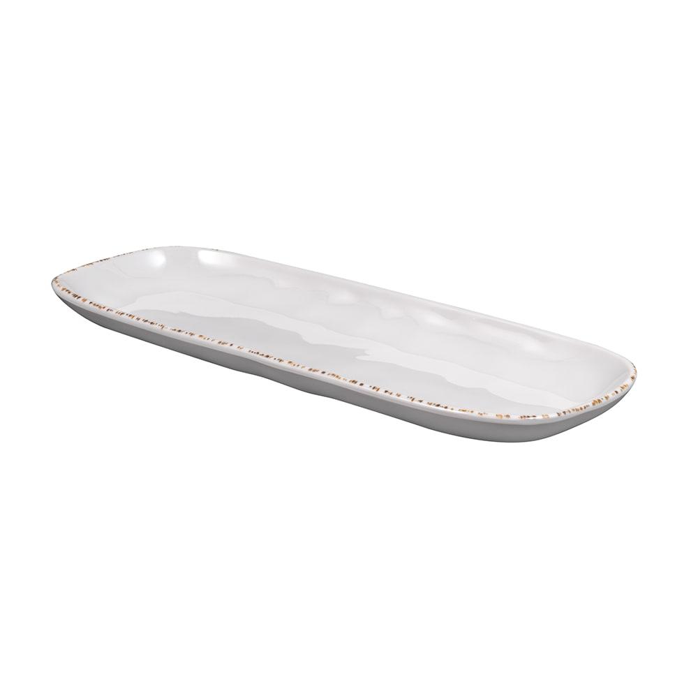"GET CS-146-UM Rectangular Platter - 14"" x 5.5"", Melamine, Urban Mill"
