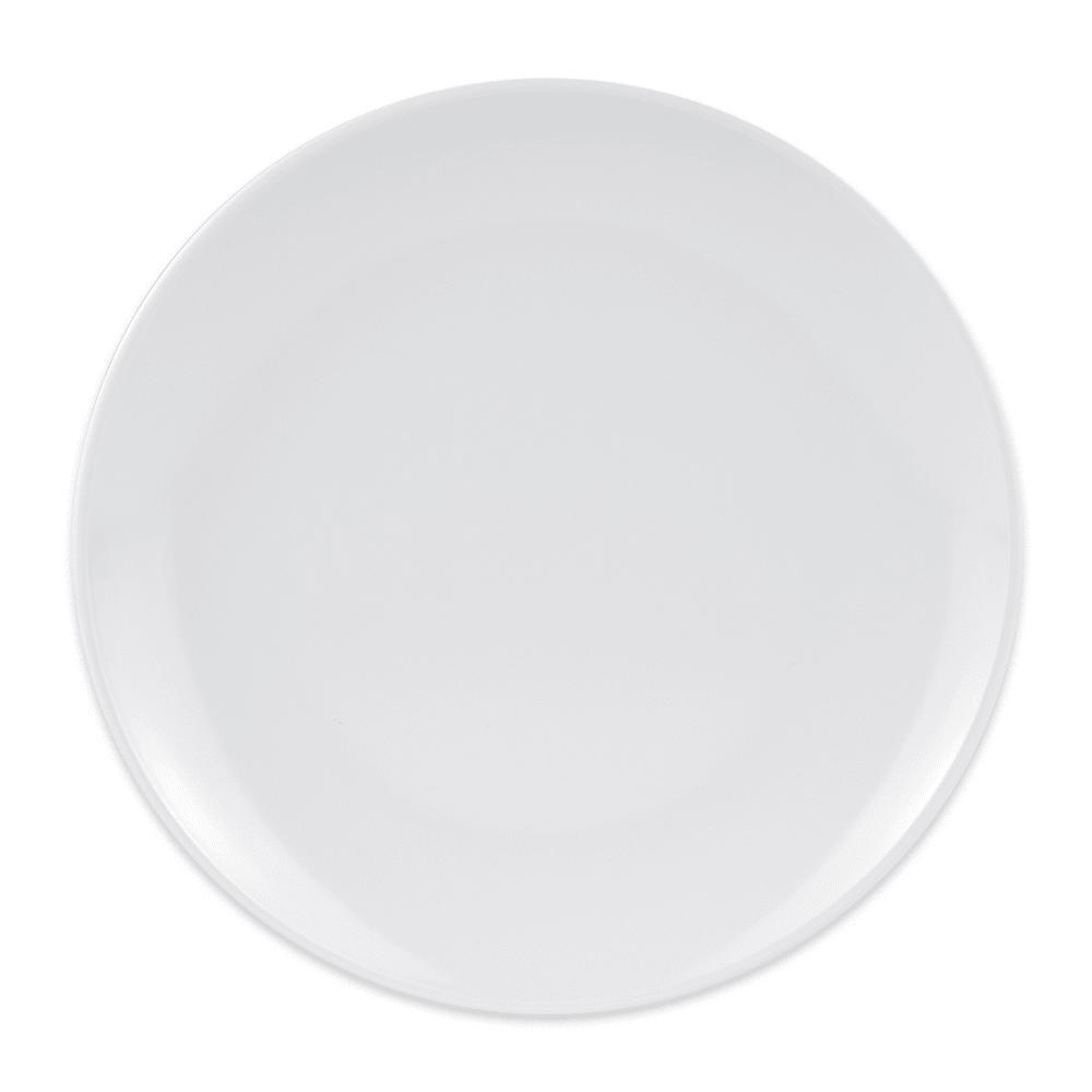 "GET CS-6100-W 7.75"" Round Appetizer Plate, Melamine, White"